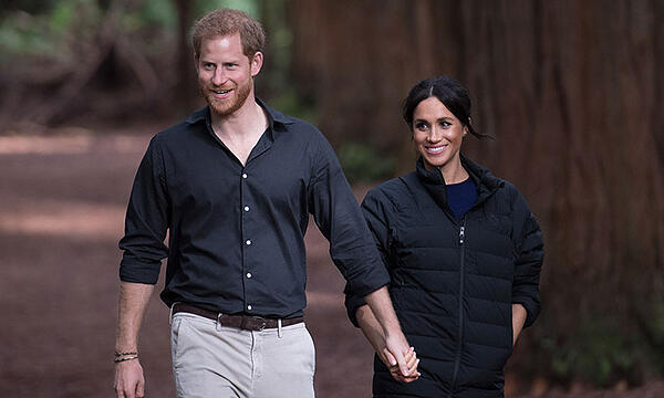 Prince Harry and Meghan Markle on trip down under