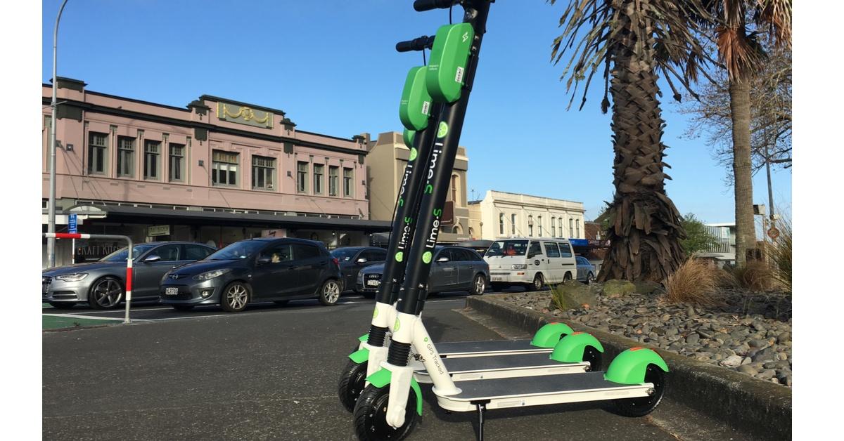 Auckland e-scooter